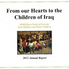"SICF Releases 2012 Annual Report:   ""From Our Hearts to the Children of Iraq"""