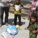 Delivering Food to Vulnerable Iraqi families and Children Takes on Added Urgency This Year